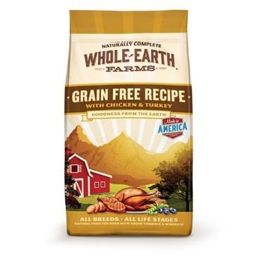 Whole Earth Farms Grain Free Chicken & Turkey Recipe Dry Dog Food