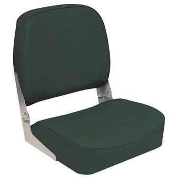 Wise Outdoors Green Low Back Fold Down Boat Seat 3313-713