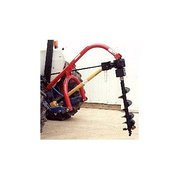 Worksaver 3-Point Standard Duty Post Hole Digger 12in. Auger 500-12STD