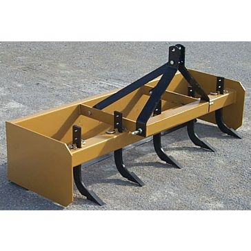 Worksaver 3-Point 6ft Box Blade Scraper SBX-6