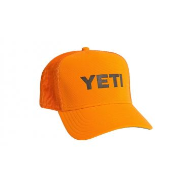 YETI Blaze Orange Deep-Fit Foam Trucker Hat