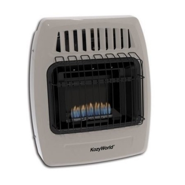 DuraHeat Kozy World 10,000 BTU Gas Wall Heater