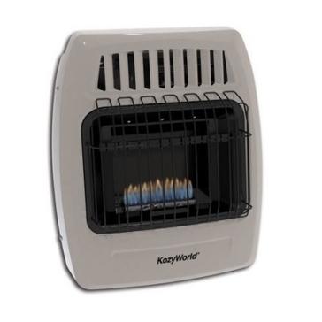 DuraHeat Kozy World 10,000 BTU Gas Wall Heater