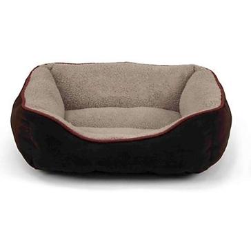 """Pet Box Bed Faux Suede 25"""""""