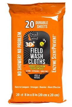 Dead Down Wind 20-Count Field Wash Cloths