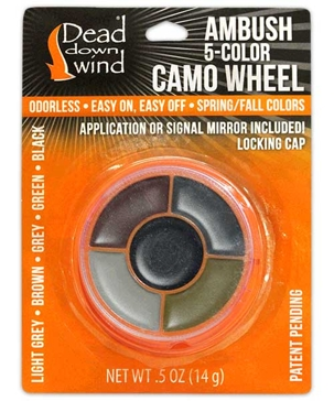 Dead Down Wind Ambush 5-Color Face Camo Compact