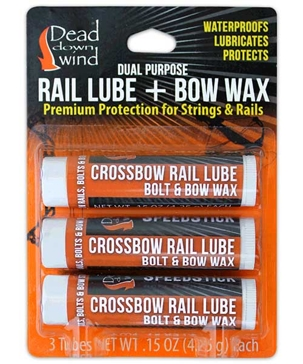 Dead Down Wind Speedstick Rail Lube & Bow Wax 3-Pack