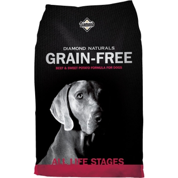 Diamond Naturals Grain Free Beef & Sweet Potato Formula Dry Dog Food