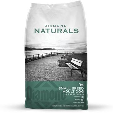 Diamond Naturals Small Breed Lamb & Rice Adult Dry Dog Food