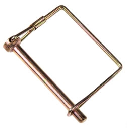 Double HH Square Lock Pin 5/16in