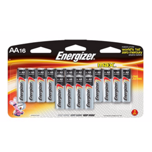 Energizer Max AA Batteries 16PK