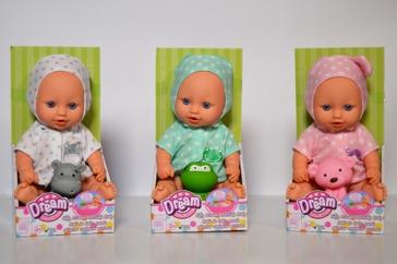 "10"" Doll Bathing Assortment"