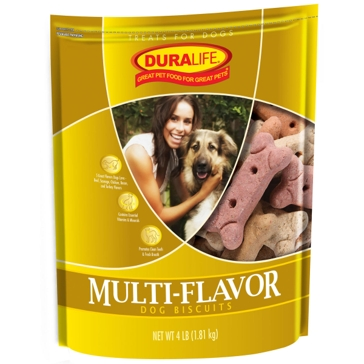 Duralife Multi-Flavor Dog Biscuits 4lb