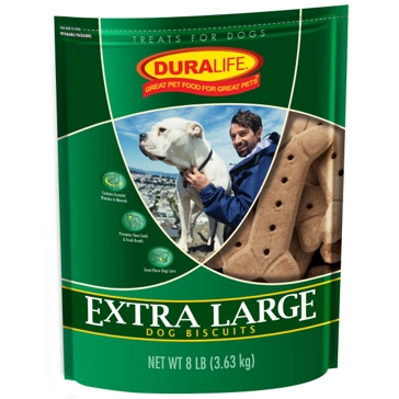Duralife Extra Large Dog Biscuits 8lb