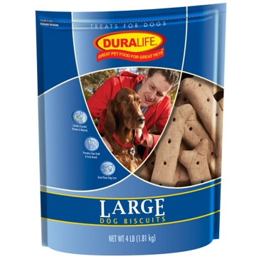 Duralife Large Dog Biscuits 4lb