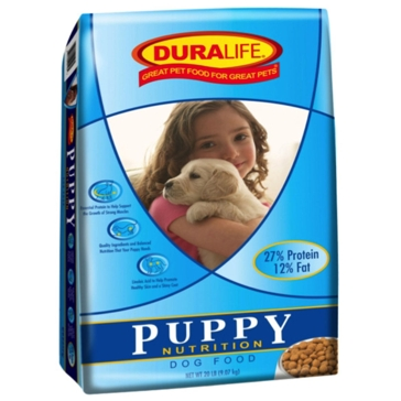 Duralife Puppy Dry Dog Food 20lb
