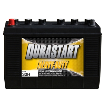 Dura-Start Heavy Duty 850CA 12V Battery 30H