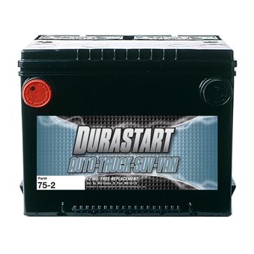 Dura-Start Side Post 785CA Auto Battery 75-2
