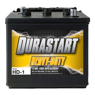 Dura-Start 750 CA Heavy Duty Commercial Battery HD-1