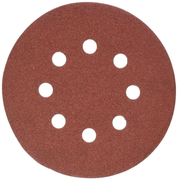 "Dewalt 5"" 8 Hole 120 Grit Hook and Loop Random Orbit Sandpaper (5 pack) DW4303"