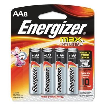 Energizer Max AA Batteries 8PK