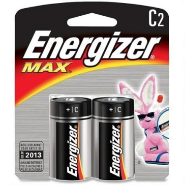 Energizer Max C Batteries 2PK