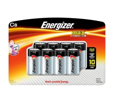 Energizer Max C Batteries 8PK