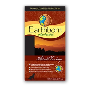 Earthborn Adult Vantage Natural Dry Dog Food