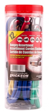 Erickson 12-Pack Bungee Cord Tube