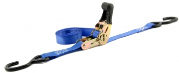 Erickson 1inX10ft 1200lb Ratchet Straps Tie-Downs 4-Pack