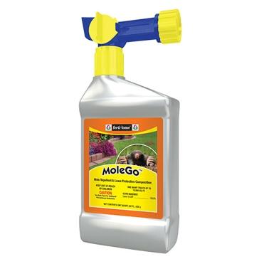 Fertilome MoleGo Mole Repellent & Lawn Protection 32oz