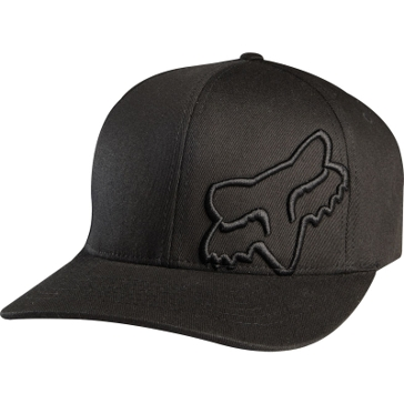 Fox Racing Black Flex 45 FlexFit Hat 58379-001
