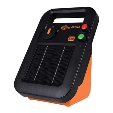 Gallagher S16 10-Mile Solar Fence Energizer