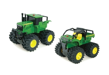 ASSORTED: Tomy John Deere Monster Treads Wheelie