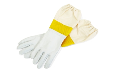 Little Giant Goatskin Beekeeping Gloves Large