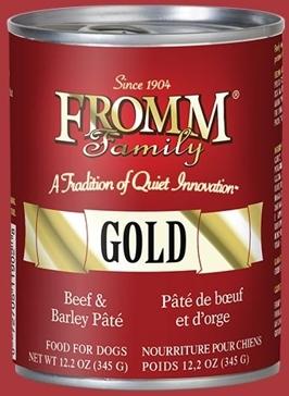 FROMM Gold Beef/Barley Pâté