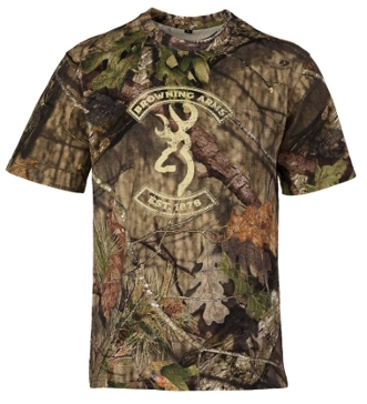 Browning Graphic T - Buckmark/Mossy Oak Break-Up Country