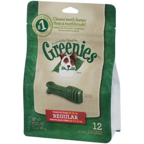 Greenies Original Dental Chews Dog Treats - Regular