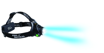 PRO-4 Tactical Headlamp