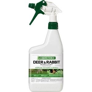 Liquid Fence Deer & Rabbit Repellent RTU 32oz