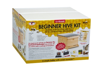 Little Giant Beekeeping 10-Frame Beginner Hive Kit