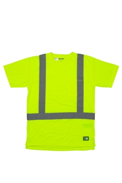 Hi-Vis Short Sleeve Pocket T-Shirt