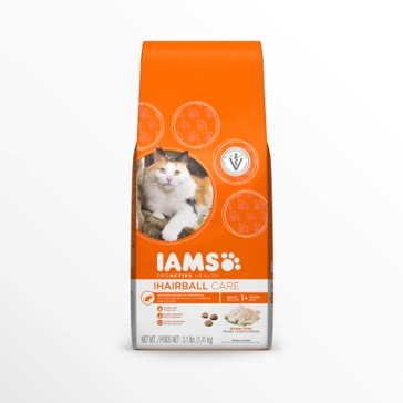 IAMS ProActive Health Adult Hairball Care with Chicken Dry Cat Food
