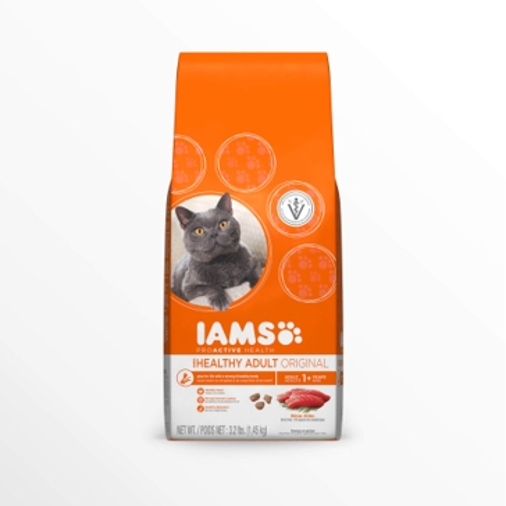 IAMS ProActive Health Adult Original with Tuna Dry Cat Food