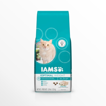 IAMS ProActive Health Optimal Weight with Chicken Dry Cat Food