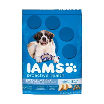 IAMS ProActive Health Adult Weight Control Large Breed Dry Dog Food