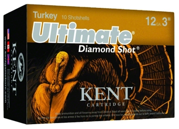 "Kent Cartridge Ultimate Diamond 4 Shot 12ga 3"" Ammunition"