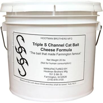 Triple S Channel Cat Bait Cheese Formula