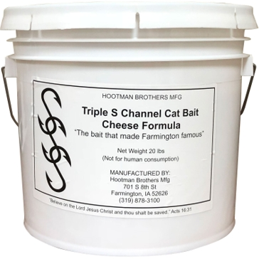 Triple S Channel Cat Bait Cheese Formula