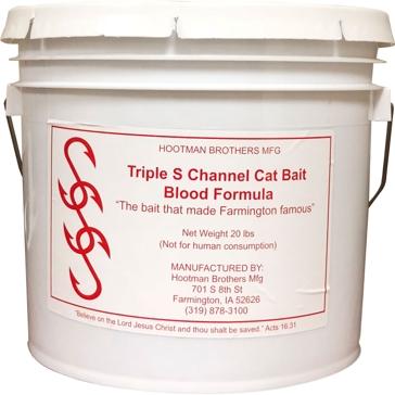 Triple S Channel Cat Bait Blood Formula